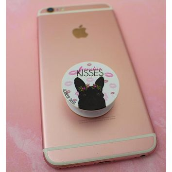 French Bulldog Phone Grip