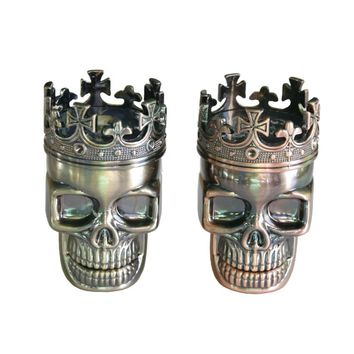 King Skull Herb Grinder Fashion Steel