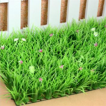 Plastic Encryption Lengthen Artificial Lawn Turf Plants Artificial Grass Lawns Carpet Garden Decoration House Ornaments