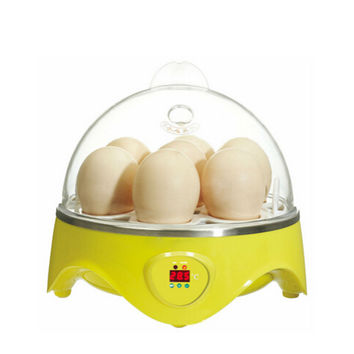 Mini Incubator 7 Egg Capacity Automatic Digital Chicken Duck Bird Hatch Tool