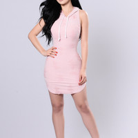 Hangout Dress - Blush