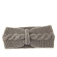 Knotted Knit Headwrap: Charlotte Russe
