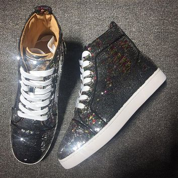 Cl Christian Louboutin Style #2110 Sneakers Fashion Shoes - Best Deal Online