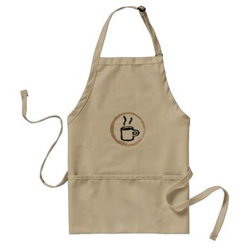 Vintage Coffee Barista Uniform Adult Apron