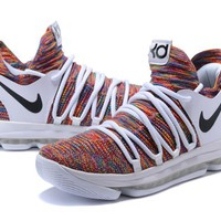 """Nike Zoom KD 10 Kevin Durant """"White Colorful"""""""