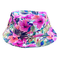 Thrilla Bucket Hat in Fuchsia