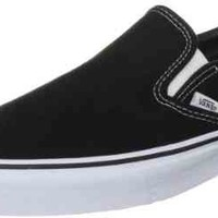 Vans Men's VANS CLASSIC SLIP ON SKATE SHOES (BLACK) 11 D(M) US