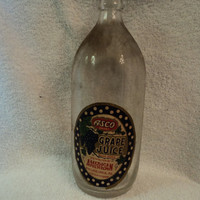 Old dusty bottle from Philadelphia, PA