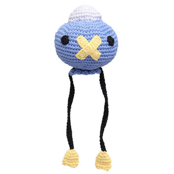 Blue Drifloon Plushie Handmade Amigurumi Stuffed Toy Knit Crochet Doll VAC