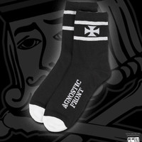 AGNOSTIC-FRONT-IRON-CROSS-SOCKS