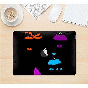 "The Cute Fashion Cats Skin Kit for the 12"" Apple MacBook"