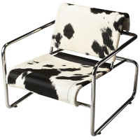 Hair On Hide Soho Accent Chair