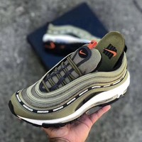 Nike Air Max 97 X Undefeated Olive Green - Beauty Ticks