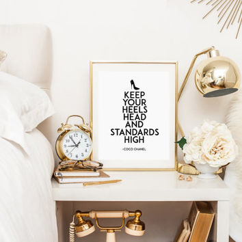 best chanel inspired home decor products on wanelo texas home d 233 cor inspired by coco chanel
