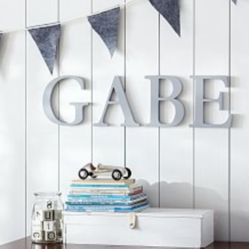 Kids and Nursery Wall Letters, & Wall Letter Decals | Pottery Barn Kids