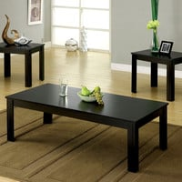 Cm4329-3Pk Coffee Table With 2 End Tables 3Pc.Set  Bay Square Collection