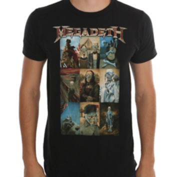 Megadeth Vic Art T-Shirt 2XL