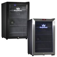Kingsbottle 66-Can Compressor Mini Bar Fridge