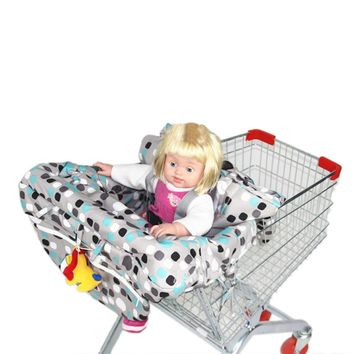 Multifunctional Baby Folding Shopping Cart Cover | Anti Dirty Safety Seats