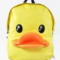 3-D Rubber Duck Adult or Kids School Bag Campus Backpack Bag
