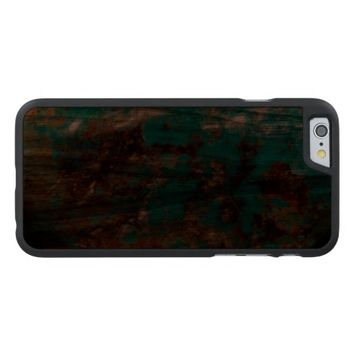 Natural Turquoise V5 Carved® Walnut iPhone 6 Case