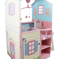 Teamson Kids - Pink Baby Nursery Doll House-TD-11460A