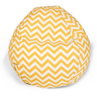 SAVE Zig-Zag Bean Bag Chair for Kids