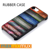 Harry Potter Collection Book iPhone 4/4S, 5/5S, 5C, 6/6 Plus Series Rubber Case