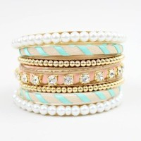 Turquoise and Pink Bangles - Buy From ShopDesignSpark.com
