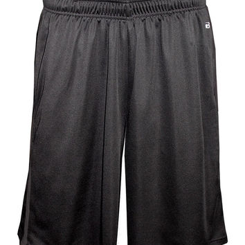 Badger 4121 Double-Time Pocketed Short - Carbon Graphite