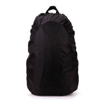 80L Rain Bag Cover Protable Waterproof Backpack Anti-theft Outdoor Camping Hiking Cycling Dust Rain Cover Soft Pack