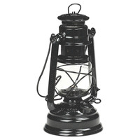 "10"" Camping Lantern, Shimmer Black, Outdoor Lanterns"