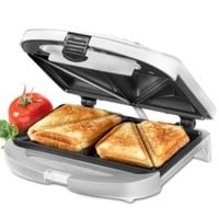 Cuisinart WM-SW2 Sandwich Grill, Brushed Chrome | macys.com