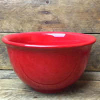 """Tabletops Lifestyles Corsica Home Deep Red 6"""" Bowl"""