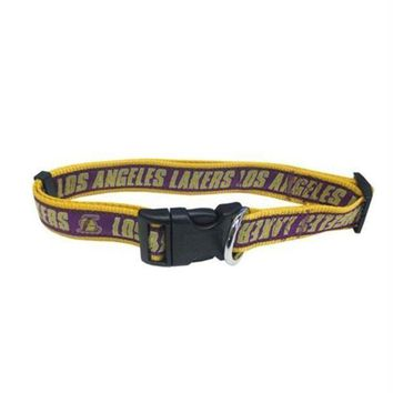 PEAPB5F Los Angeles Lakers Pet Collar