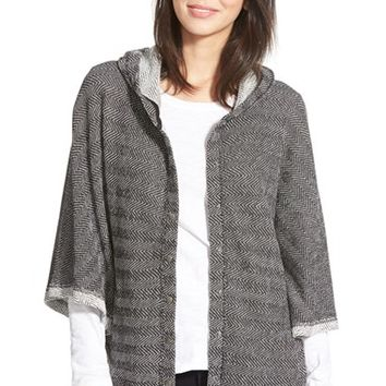 Women's Lucky Brand Tweed Textured Active Jacket,