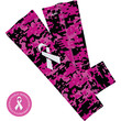 Pink/Black Digital Camo Ribbon Arm Sleeve