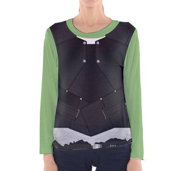 Women's Gamora Guardians of the Galaxy Vol. 2 Inspired Long Sleeve Shirt