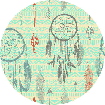 Dream Catchers Circle Wall Decal