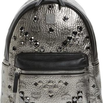 MCM 'Small Stark' Studded Backpack | Nordstrom