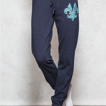 Aztec Waistband Sweatpants