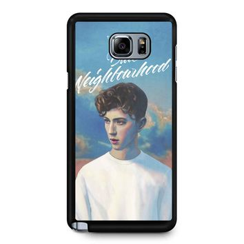 Blue Neighbourhood Troye Sivan Samsung Galaxy Note 5 Case