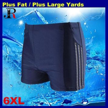 2017 Eur&usa Popular 6xl Men Big Waist Plus Large Yards Swimming Trunkshot Springs Bathing Swim Suit Swimwear Beach Shorts