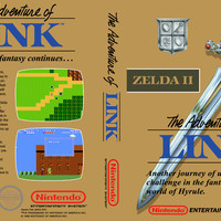 Zelda II The Adventure of Link - Gold Edition - Nintendo NES (Game Only)