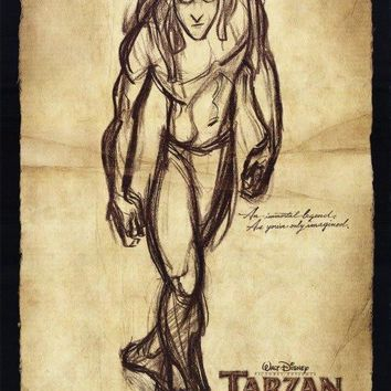Tarzan 27x40 Movie Poster (1998)