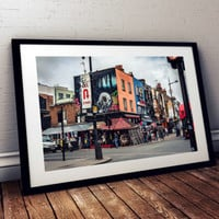 Camden Market street London photography print photo poster art prints architecture england english fine art print urban hipster shopping