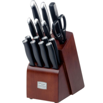Chicago Cutlery 16 Piece Knife Block Set Kitchen Knives Stainless Steel