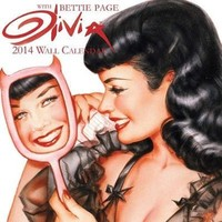 Olivia-Bettie Page - 2014 16-Month Calendar 12 x 12in