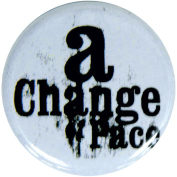 A Change Of Pace - Logo Button