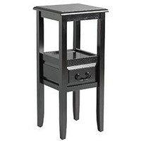 Pier 1 Imports - Pier 1 Imports > Catalog > Furniture > Pier1ToGo Product Details - Anywhere Pedestal Table - Black